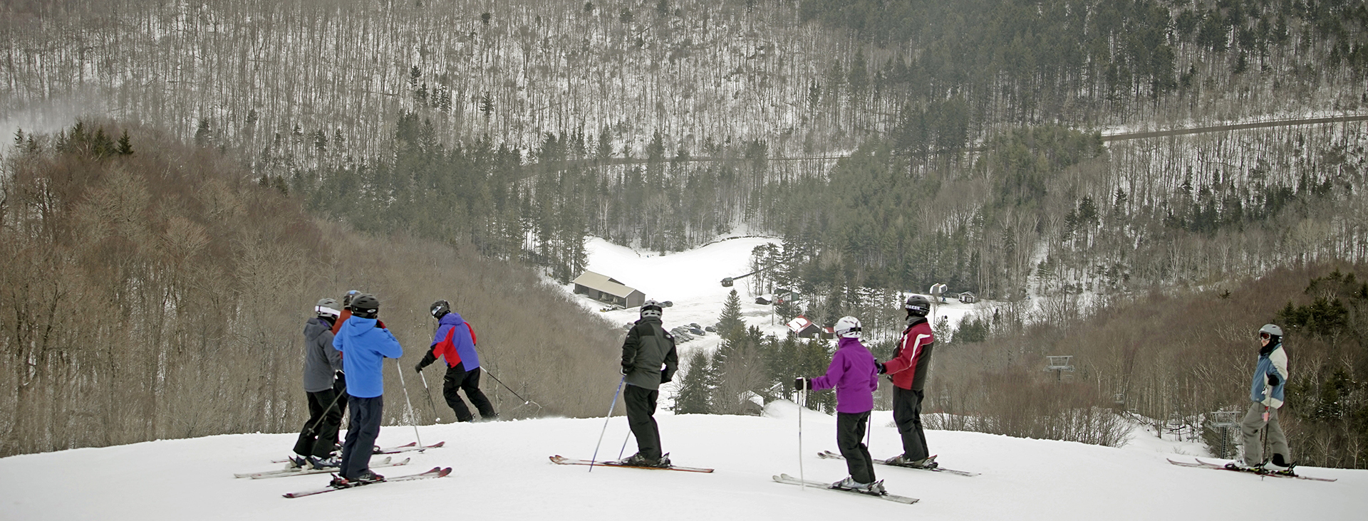 Adults in Wednesday mountain experience program