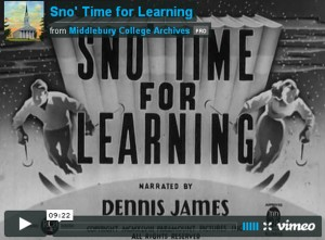 Snow Time For Learning Video